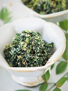 蕪の葉の簡単明太マヨ炒め