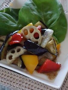 野菜のマリネ、バルサミコ風味