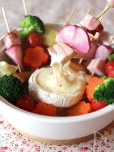 カマンベールチーズ串鍋