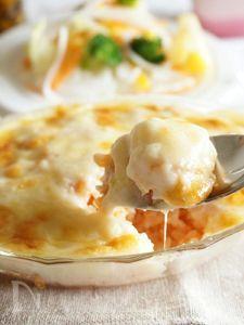 ヘルシーな豆乳ホワイトソース