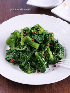 かき菜のナムル