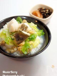 簡単!本格~タラとあさりの出汁茶漬け!