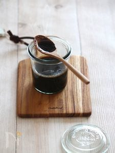 しょうが黒糖シロップ。