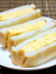 分厚い玉子トースト