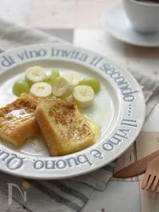 基本のふわふわフレンチトースト
