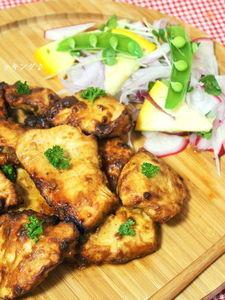 鶏ムネ肉deタンドリーチキン