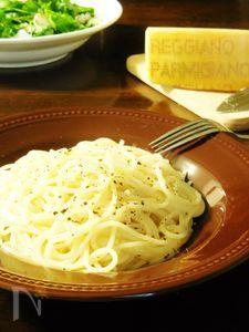 シンプル!パルジャミーノのスパゲティ