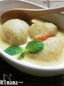里芋のカレー胡麻ミルクのシチュー