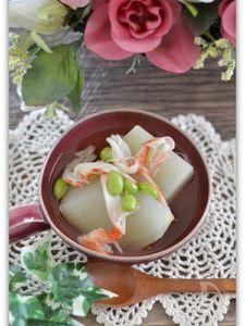 冬瓜のジンジャースープ煮