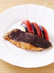 鮭のゆかりバタ焼き