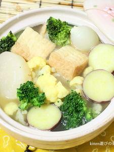 寒~い季節にピッタリ!!野菜のおでん