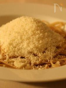 釜あげスパゲッティ てんこ盛りパルミジャーノレッジャーノ