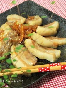 豚バラ肉のオレンジピール煮