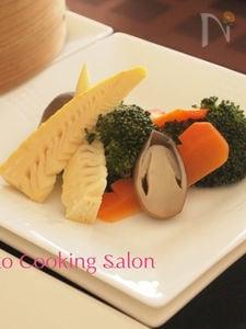 彩り温野菜の中華風