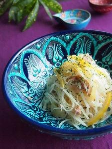 食感!ポテト&ツナの塩檸檬クミンのアマニ油和え