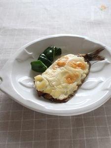 いわしの豆腐クリーム焼き