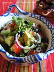 メキシコの香りのサラダ