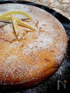 イタリア風レモンケーキ