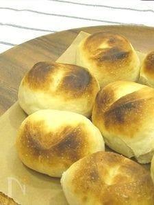 【ほっとき!もちもちパン】【トースターで焼ける】丸パン