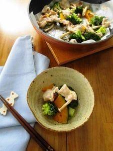 *豚肉と野菜のフライパン蒸し*