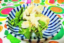 サトイモと鮭のポテトサラダ