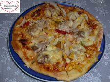 パルミジャーノ・レッジャーノでピザ♪