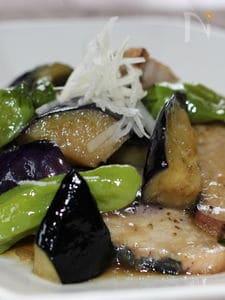 カツオと夏野菜の炒めもの