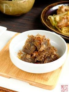 シンプル旨々常備菜☆凍みこんにゃくの土佐煮!