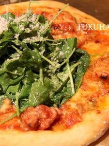家庭用オーブンで作る 本格ピザ