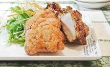 鶏むね肉の味噌香り揚げ
