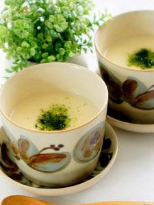 酒粕入り蕪の和風ポタージュスープ