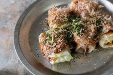 豚巻きキャベツのお好み風(トースター調理)
