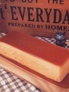 昔ながらの濃厚焼きプリン