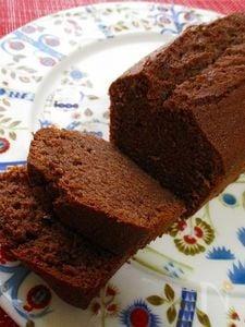 グルテンフリーのココアパウンドケーキ