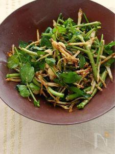 簡単ナッツのサラダ