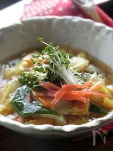 ほっこり♡玉子とうふの白菜あんかけ