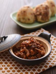 豚肉のしょうが煮のおにぎり
