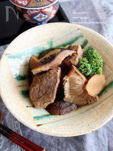 豚肉と椎茸の煮込み