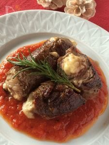 牛肉のインヴォルテイーニ