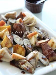 根菜のロースト~バルサミコはちみつがけ~