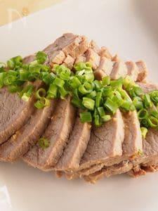 はちみつ味噌チャーシュー(蒸し煮豚のはちみつ味噌漬)