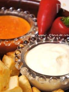 フリトーに合うスペインの赤と白のソース