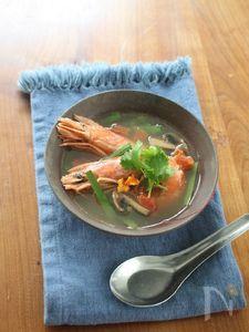 【12/3みかんの日】みかんのトムヤム風スープ