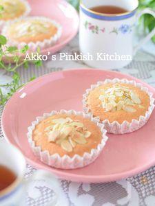 卵1個で作るアーモンドケーキ4個♪