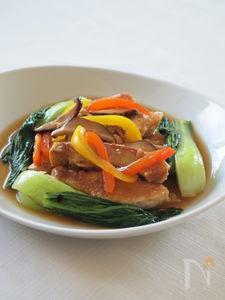 豚ロースの軽い中華煮込み