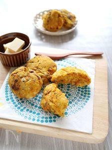 かぼちゃと小倉餡のソフトクッキー