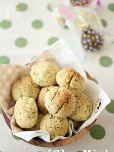 バジルとチーズのほろほろクッキー