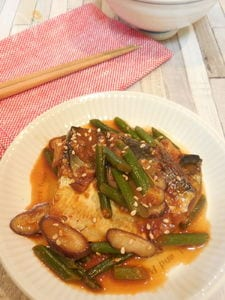 鯖の韓国風味噌煮