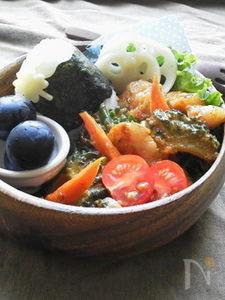 〜ゴーヤと豚肉の旨コチュ味噌炒め(作りおき)〜