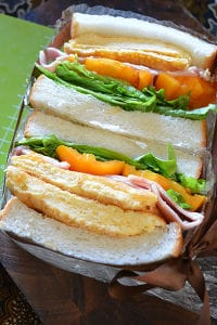 ふわっふわんの厚焼き卵と食パン 卵サンド